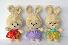 Piccoli e deliziosi, trovo questi coniglietti adorabili