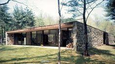 Eliot Noyes   Eliot Noyes House   New Canaan, Connecticut   1954