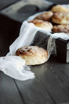 Cinnamon Biscuits - a touch of cinnamon and sugar give these tender, flaky biscuits just the right amount of sweet flavor!