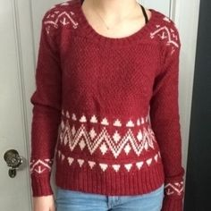 Selling this Faire isle sweater on Poshmark! My username is: thatsmarissa. #shopmycloset #poshmark #fashion #shopping #style #forsale #Mossimo Supply Co. #Sweaters