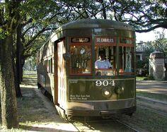N.O. St.Charles St. Street Car