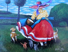 "Jonathan+Green+Artwork   Amadeus"" by Jonathan Green   Lowcountry Gullah Art"