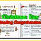 Christmas Day Reading Comprehension  1. There is a story about Christmas Day  2. Reading activities     Before Reading  - Match the vocabulary with...
