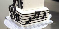 New Year's Rockstar Fondant Guitar Music Notes DecoPics Cupcake Picks