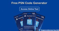 Free PSN Codes Generator 2017 :- No Survey / Human Verification{ New } https://freepsncodesnosurvey.club/ #PSNcodes #PSNcodesFree #FreePSNcodes