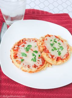 Mini Keto Pizza. Super easy keto pizza recipe that makes single serve keto pizzas that have a super flavorful low carb crust. Topped with low carb sauce and mozzarella cheese you can customize the toppings on this keto pizza with your favorites!