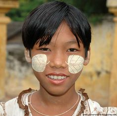 Girl near U Bein's Bridge, Amarapura, Myanmar