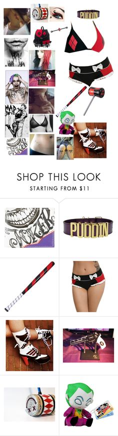 """""""#DaddysLilMonster #MyPuddin #YesDaddy?"""" by serial-killer-girl13 ❤ liked on Polyvore featuring beauty, Hickey, jared and Funko"""