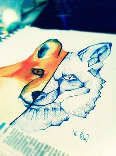foxisfriend by Pau4art.deviantart.com on @DeviantArt