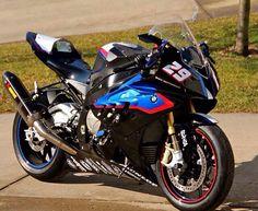 Custom Black BMW S1000RR