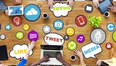 Don't dismiss the value and potential of social media in eLearning. The Role of Social Media in eLearning! Social Marketing, Marketing Online, Digital Marketing Services, Content Marketing, Internet Marketing, Marketing Strategies, Business Marketing, Marketing Ideas, Marketing Survey