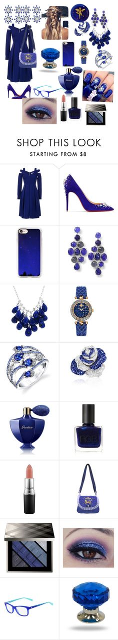 """""""Untitled #98"""" by eliza-heffly ❤ liked on Polyvore featuring Preen, Christian Louboutin, Casetify, Ippolita, Ten Thousand Things, Versace, Sabbadini, Guerlain, RGB and Burberry"""