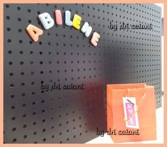 Primeiro conjiunto de letras vendido by Dri Saiani ©