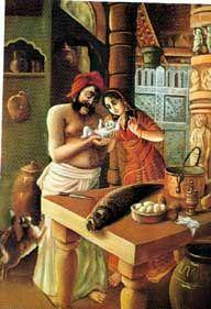 Krishna Book Chapter 55: Pradyumna Born to Krsna and Rukmini