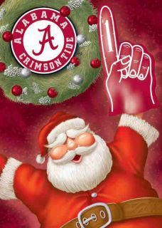 Thank you Santa! Now bring us #14! Roll Tide!