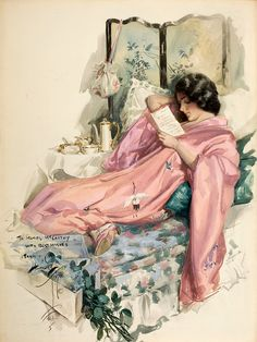 Harrison Fisher. A lovely 1910's