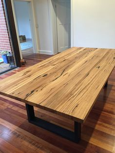 'Bessie' Timber Table - Wow! | AUSTRALIAN MADE