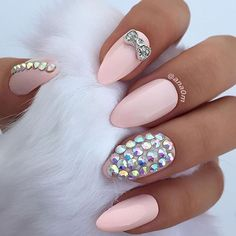 @ana0m sets #goals in her #NAILHURPlayful stiletto nails  use code •ana• to save on your next purchase!  #nailhur #nails #teamnailhur