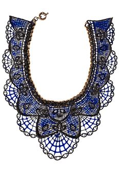 Annelise Michelson necklace, $685. The Webster, Miami; 305-674-7899. annelisemichelson.com.