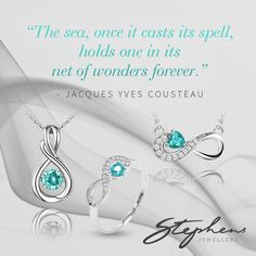 Take the sea with you where ever you go, with this mesmerising aquamarine stone. Come in store or shop these styles online at http://www.stephensjewellers.com.au/brand/stephens?category=&stone_type=&metal_type=&search_query=&gender=&promotion= #Stephensjewellers #Jewellery #Gold #Rings #Aquamarine http://www.stephensjewellers.com.au/
