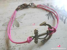 Braccialetti ancora    http://www.mondobigiotteria.com/kit-per-creare/bracciale/