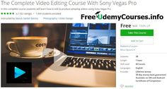 [#Udemy 100% Off] The Complete #Video_Editing Course With Sony Vegas Pro   About This Course  Published 11/2016English  Course Description  Sony Vegas Pro is the most popular & fell featured video editing software. Thousands of content creators and video editors are using sony vegas pro software for their video editing. In this coursei am going to show you how to make professional looking videos with no experience.Using this software is much more easier than Adobe After Effects & Adobe…