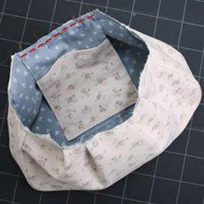 マチ付きグラニーバッグの作り方 | 簡単かわいいハンドメイド - 無料型紙 - | BEE FACTORY
