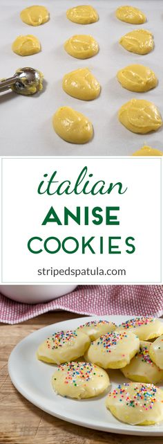Easy to make cookies with a soft texture and warm, licorice-like flavor.