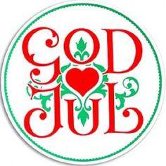 God Jul =Merry Christmas in Norwegian
