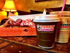Say Hello To Your Sweetie With A Brown Sugar Cinnamon Latte And Brownie Batter DDonut Get Any Small Hot Or Iced For Just 99 Cents From Every DDay