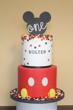 Birthday friend cake mickey mouse 25 ideas for 2019 Pastel Mickey, Mickey And Minnie Cake, Mickey Cakes, Minnie Mouse, Mickey Party, Mickey Mouse Birthday Theme, Mickey 1st Birthdays, Mickey Mouse Clubhouse Cake, Birthday Cake Flavors