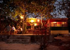 Three Dives Restaurant on the cliffs in Negril Jamaica