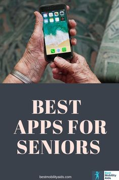 26 essential must-have mobile apps for seniors to improve everyday life. From improving health, saving money, staying connected, to making your phone easier to use, these Android and iOS apps are definitely worth installing on your smartphone. Life Hacks Computer, Iphone Life Hacks, Computer Tips, Cell Phone Hacks, Smartphone Hacks, Iphone Information, Cell Phones For Seniors, Best Mobile Apps, Technology Hacks