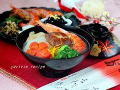 ☆2013年☆お正月料理☆|レシピブログ Japchae, Meat, Chicken, Ethnic Recipes, Food, Essen, Meals, Yemek, Eten