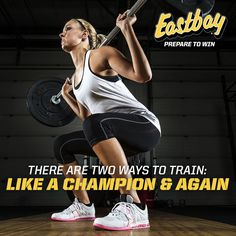 There are two ways to train: like a champion & again. #Motivation #Fitness