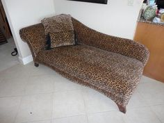 Lounge back in this chic leopard chaise. | Houston TX | Gallery Furniture | | Chairs that will WOW! | Pinterest | Houston tx Leopards and Animal print ... : leopard print chaise lounge - Sectionals, Sofas & Couches