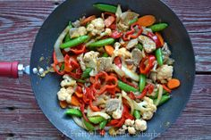 Make-it-your-way Sweet & Sour Stir Fry  A dinner ready and on your table in under 1 hour!