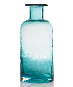 Another great find on #zulily! Turquoise Lounge Vase by Accent Décor #zulilyfinds
