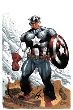 Captain America - Rodney Buchemi