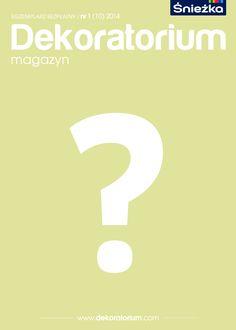 Co znajdzie się na wiosennej okładce naszego magazynu? Zależy to... od Ciebie! Trwa nasz konkurs na projekt okładki Dekoratorium. Szczegóły na: http://dekoratorium.com/aktualnosci/konkurs-zaprojektuj-okladke-dekoratorium/