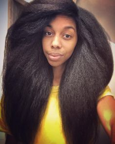 Coresa Nancy Hogan || Her God Given Hair. Long natural hair. Long Afro hair.