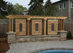 deck with privacy | Privacy Screens » Not Just Decks