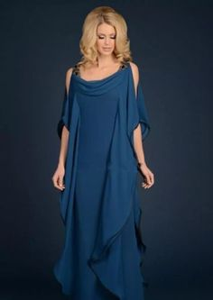 Mother of the Bride Dress Plus Size Elegant Floor-Length Chiffon Dress 2017 New
