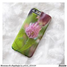 #Blossom of a #Aquilegia #Barely #There #iPhone 6 #Case