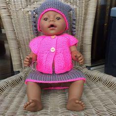 Dukkeklær baby born.