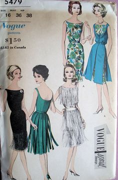 80's cocktail dress pattern | make // | Pinterest | Cocktail ...