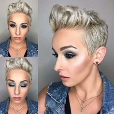 19-Short Blonde Haircuts 2017