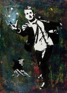 Blek Le Rat #worldgraffitiart #streetart #streetartists #urbanartistsonline #urbanart #graffiti #freewalls #bleklerat