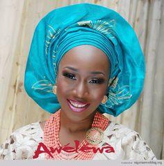 Nigerian wedding yoruba brides Omoyeni