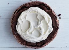The late Richard Sax, celebrated cookbook author and champion of home cooks the world over, inspired this flourless chocolate cake—a riff on his iconic chocolate cloud cake.